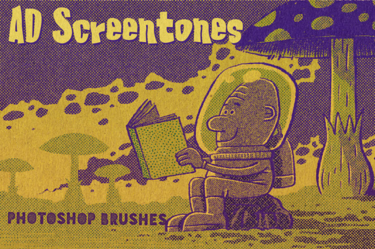 AD Screentones - Photoshop Brushes