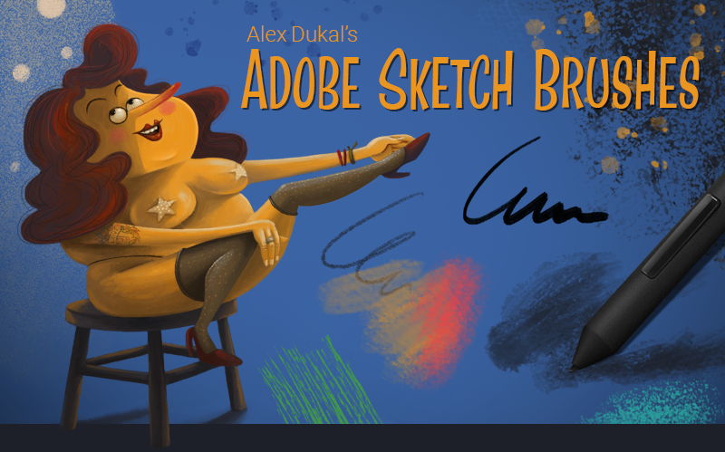 AD Adobe Sketch Free Brushes