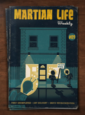 Martian Life #09